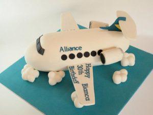 3D Airplane Cake