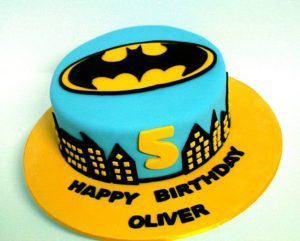 Batman themed Kids Birthday Cake