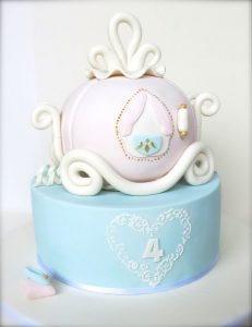 Princess & Carriage Cake