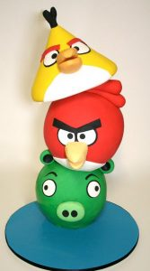 3D Bird Cake