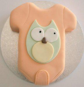 Onsie Baby Cake