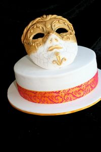 Sugarcrafted Venetian Mask