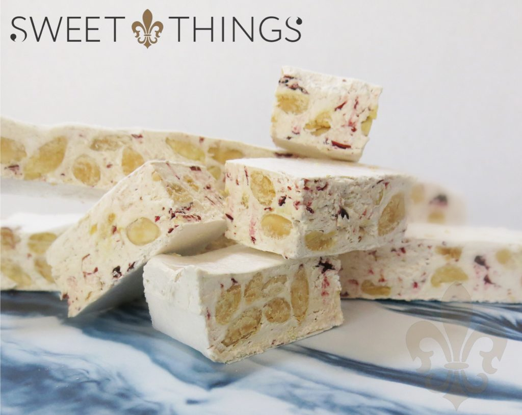 Sweet Things Almond & Cranberry Nougat