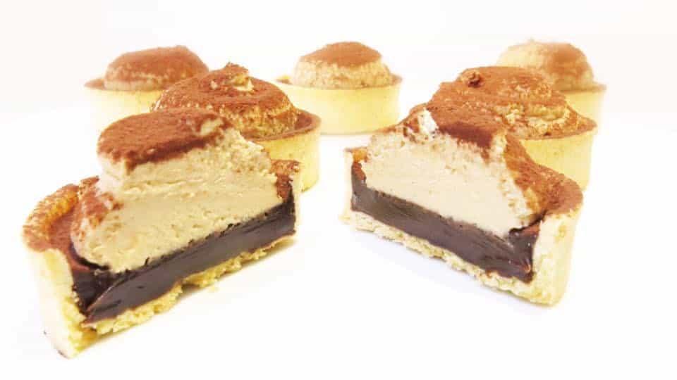 Tiramisu Chocolate Tarts made by Sweet Things Perth Cakes